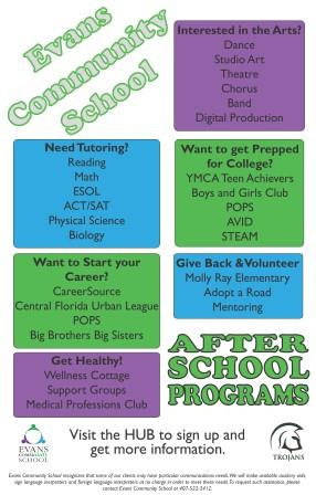 Evans Community School Fall 2014 - Back to School
